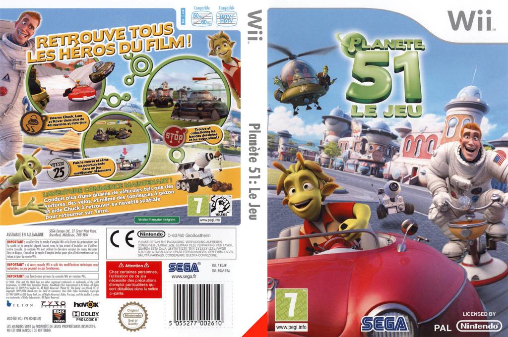 Planète 51:Le Jeu Wii coverfullHQ (RGAP8P)