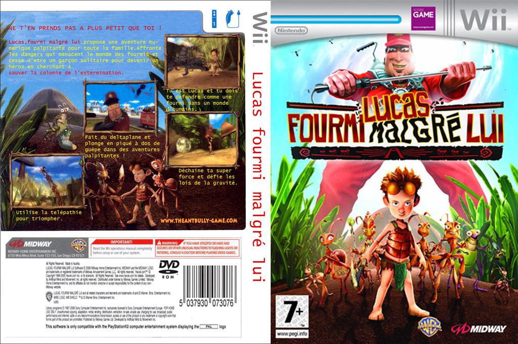 Lucas, Fourmi Malgré Lui Wii coverfullHQ (RI3P5D)