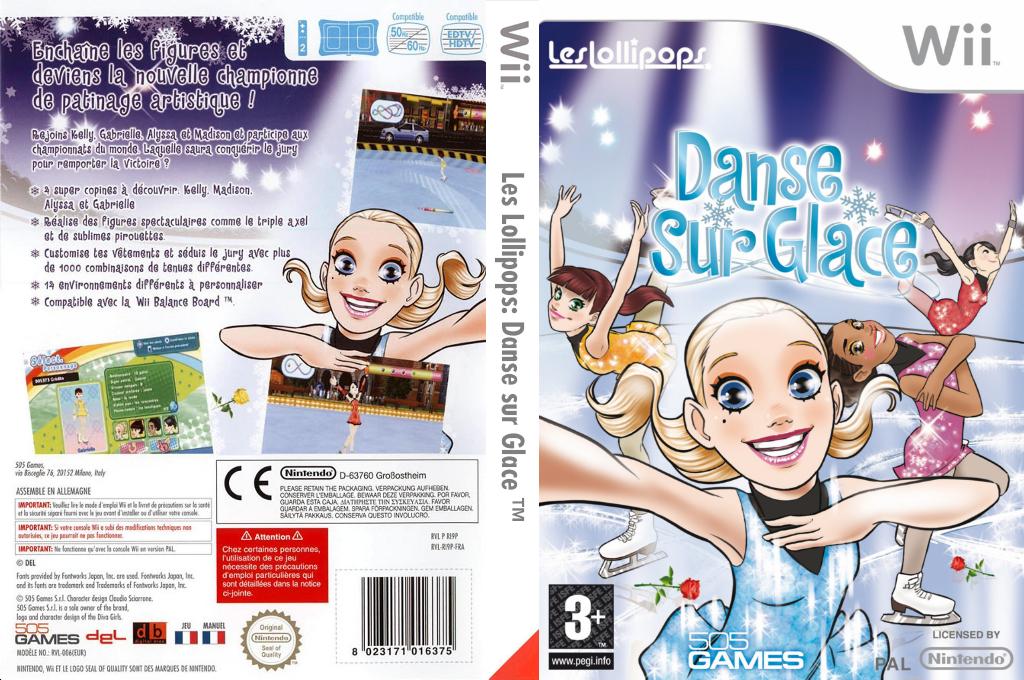 Les Lollipops:Danse sur Glace Wii coverfullHQ (RI9PGT)