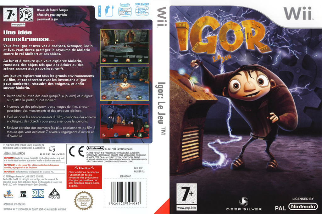 Igor : Le Jeu Wii coverfullHQ (RIBPKM)