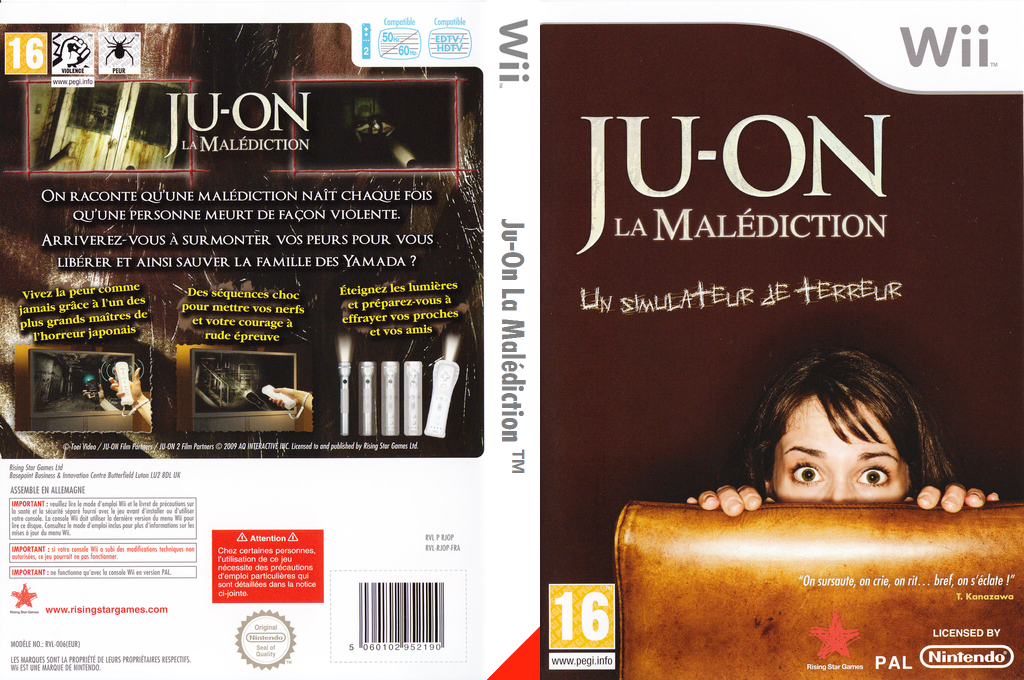 Ju-On La Malédiction Wii coverfullHQ (RJOP99)
