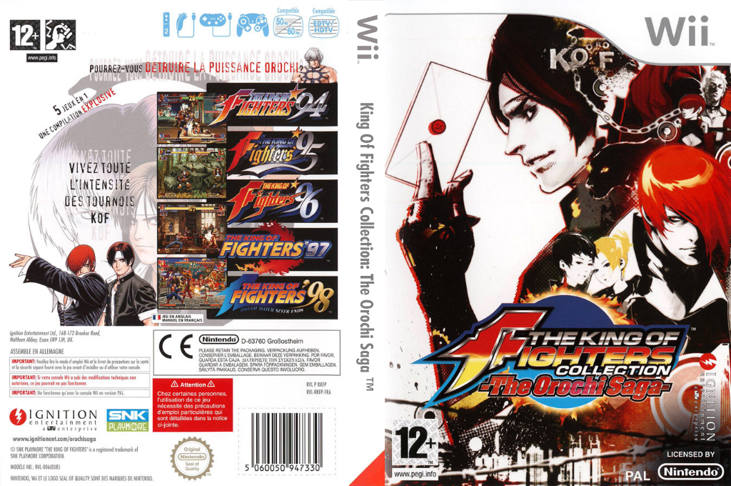 The King of Fighters Collection:The Orochi Saga Wii coverfullHQ (RKFP7U)