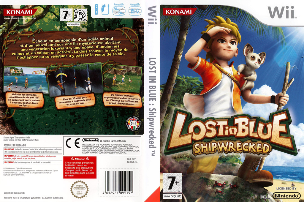 Lost in Blue:Shipwrecked Wii coverfullHQ (RKZPA4)