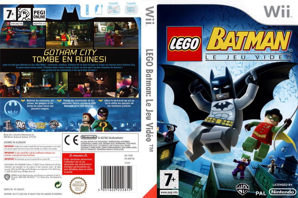 LEGO Batman:Le Jeu Vidéo Wii coverfullHQ (RLBPWR)