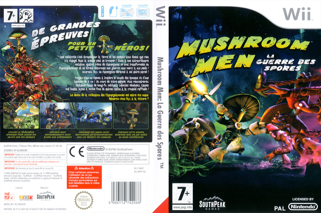 Mushroom Men:La Guerre des Spores Wii coverfullHQ (RM9PGM)