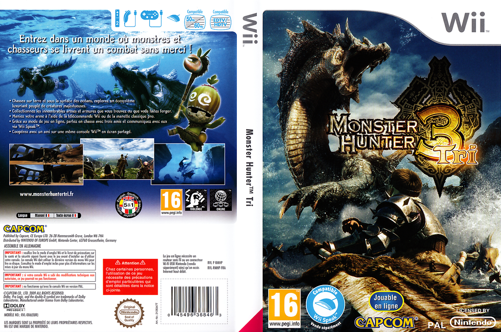 Monster Hunter Tri Wii coverfullHQ (RMHP08)