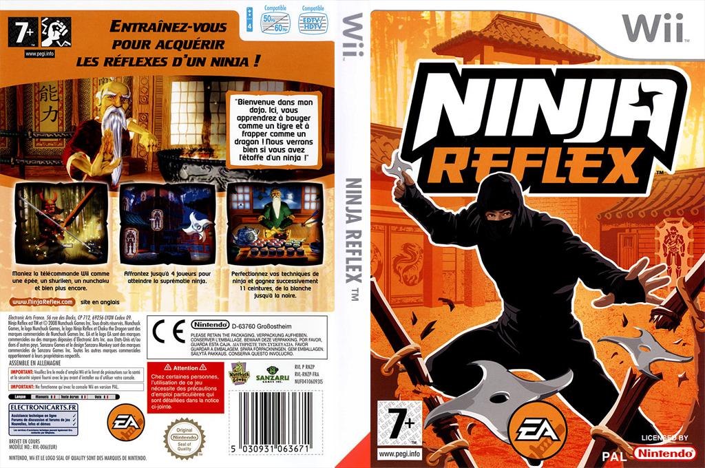 Ninja Reflex Wii coverfullHQ (RNZP69)