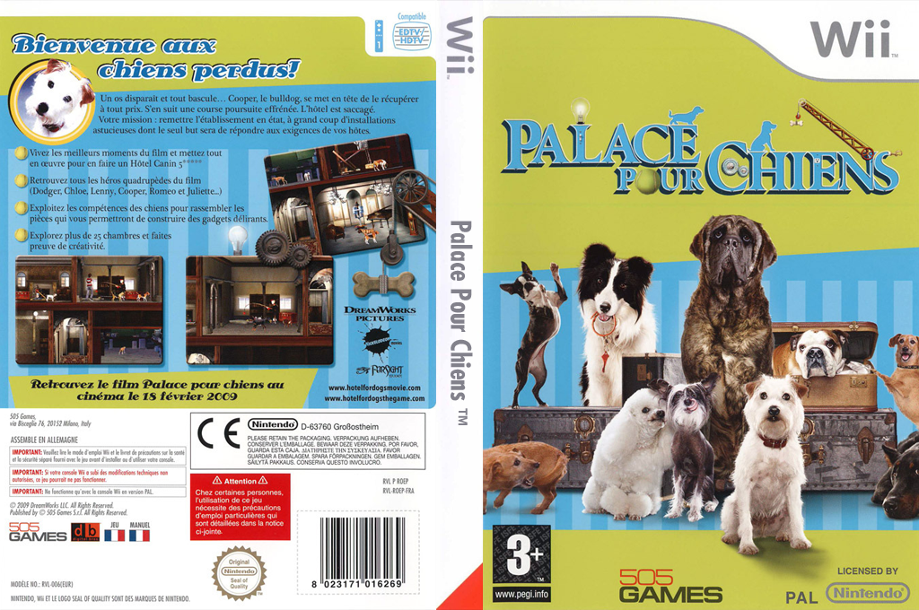 Palace pour chiens Wii coverfullHQ (ROEPGT)