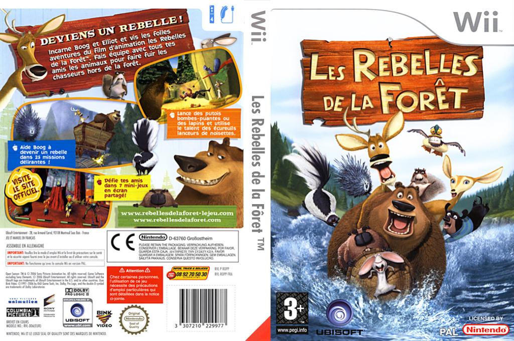 Les Rebelles de la Fôret Wii coverfullHQ (ROPP41)
