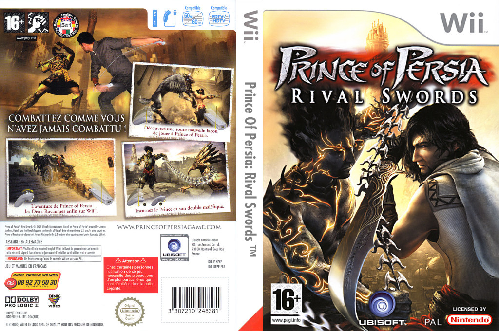 Prince of Persia : Rival Swords Wii coverfullHQ (RPPP41)