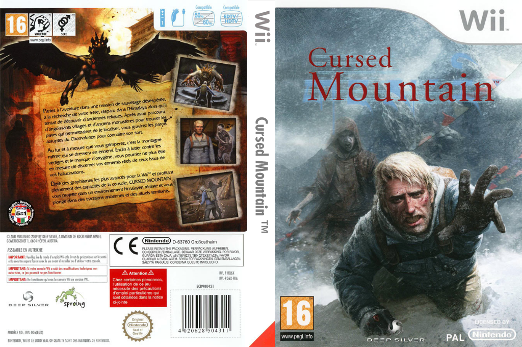 Cursed Mountain Wii coverfullHQ (RQ6XKM)