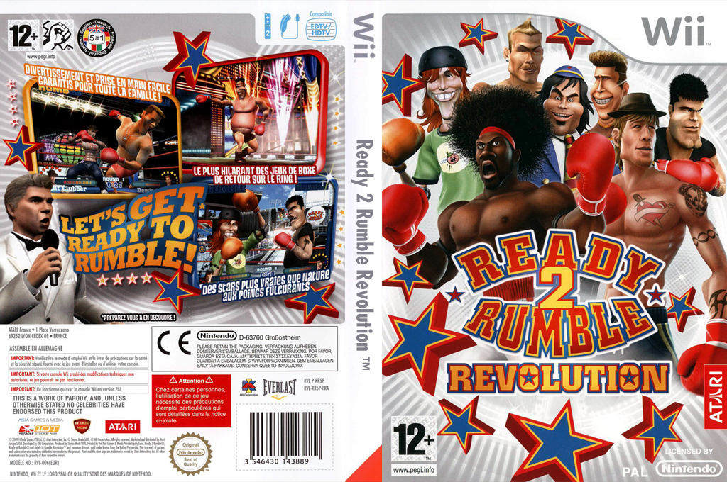 Ready 2 Rumble Revolution Wii coverfullHQ (RR5P70)