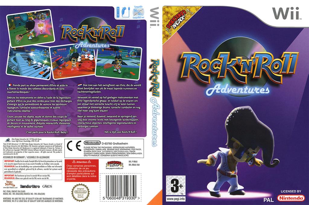 Rock 'N' Roll Adventures Wii coverfullHQ (RRAXUG)