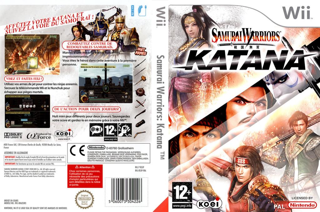 Samurai Warriors:Katana Wii coverfullHQ (RS5PC8)