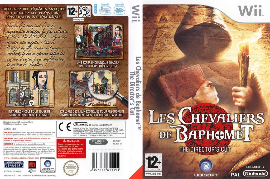 Les Chevaliers de Baphomet : Director's Cut Wii coverfullHQ (RSJP41)