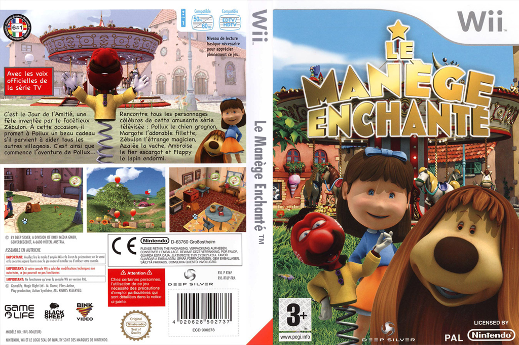 Le Manège Enchanté Wii coverfullHQ (RT6PKM)
