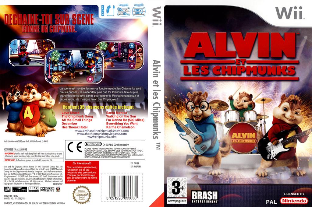 Alvin et les Chipmunks Wii coverfullHQ (RVBPRS)