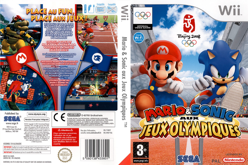 Mario & Sonic aux Jeux Olympiques Wii coverfullHQ (RWSP8P)
