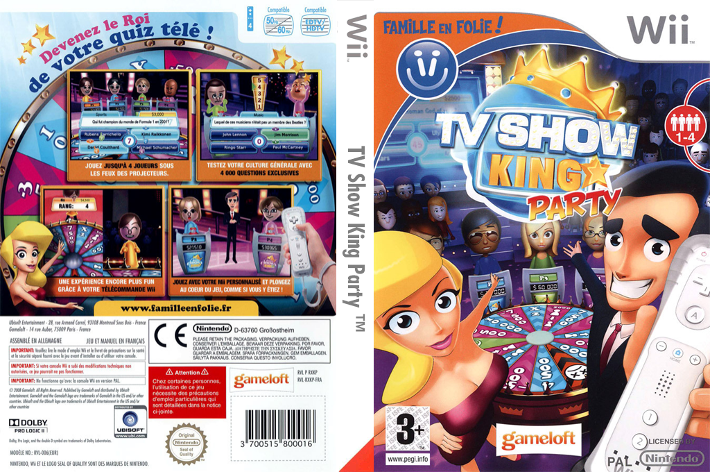 TV Show King Party Wii coverfullHQ (RXKPGL)