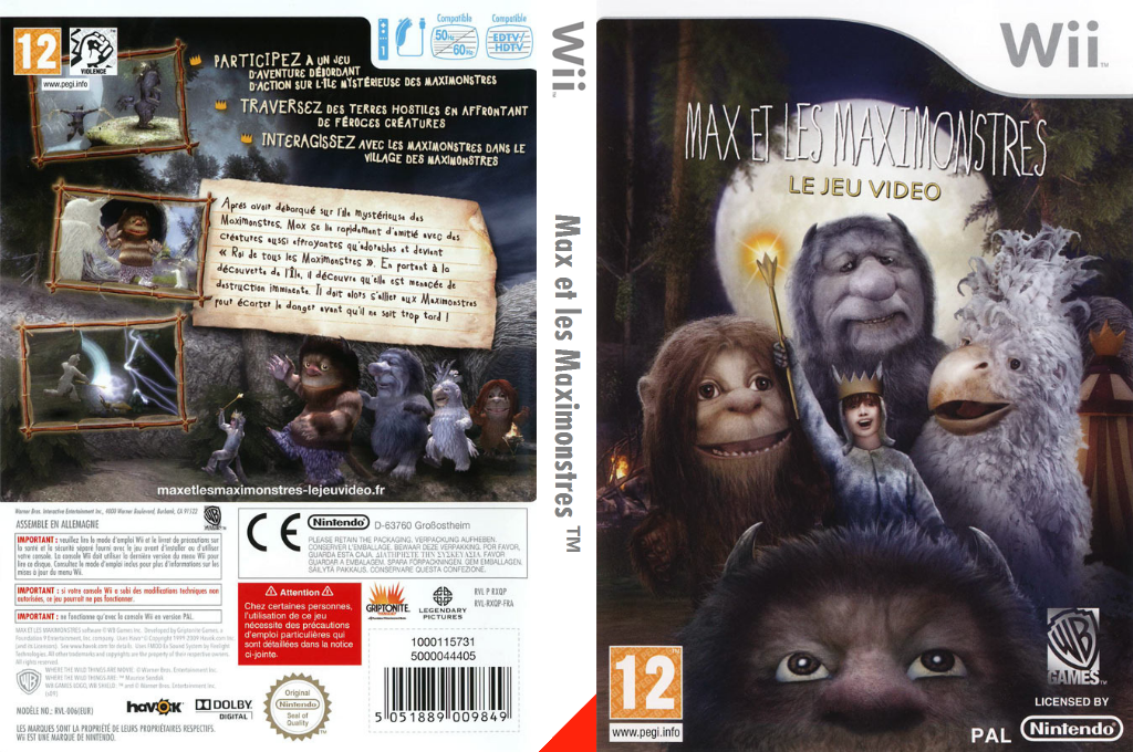 Max et les Maximonstres Wii coverfullHQ (RXQPWR)