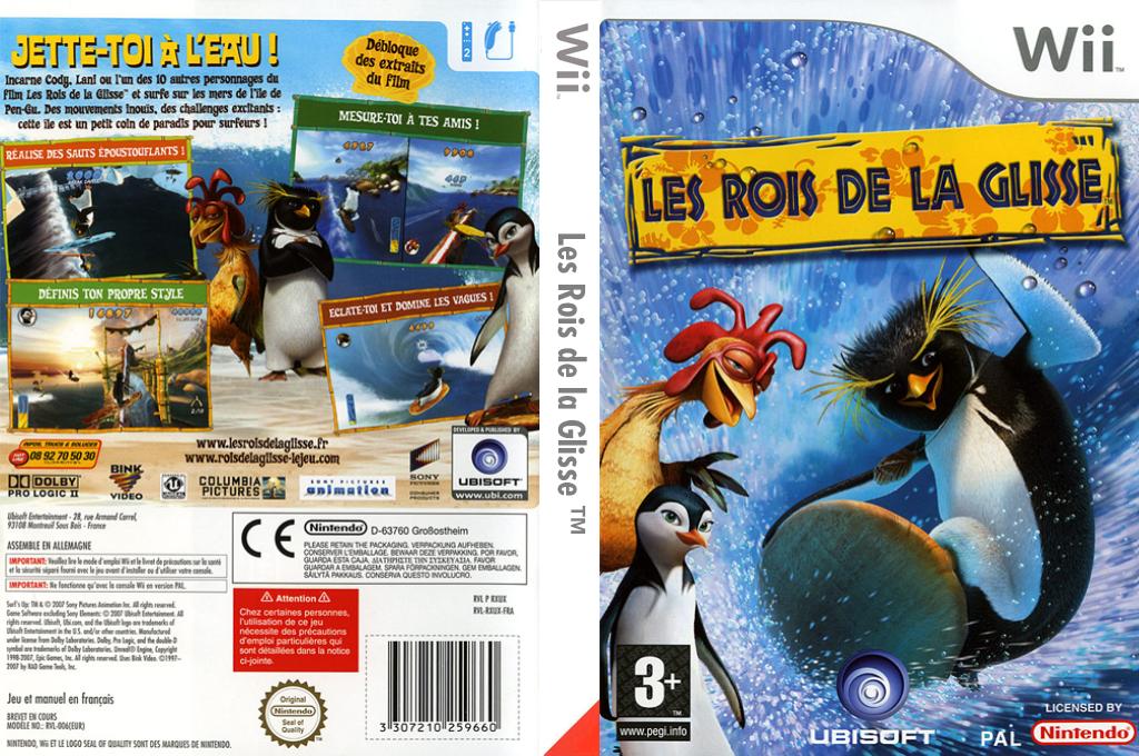 Les Rois de la Glisse Wii coverfullHQ (RXUP41)