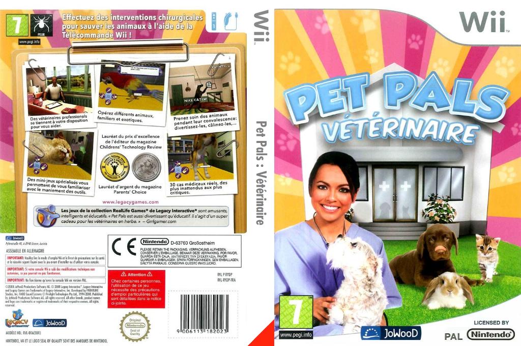 Pet Pals: Vétérinaire Wii coverfullHQ (RYDP6V)