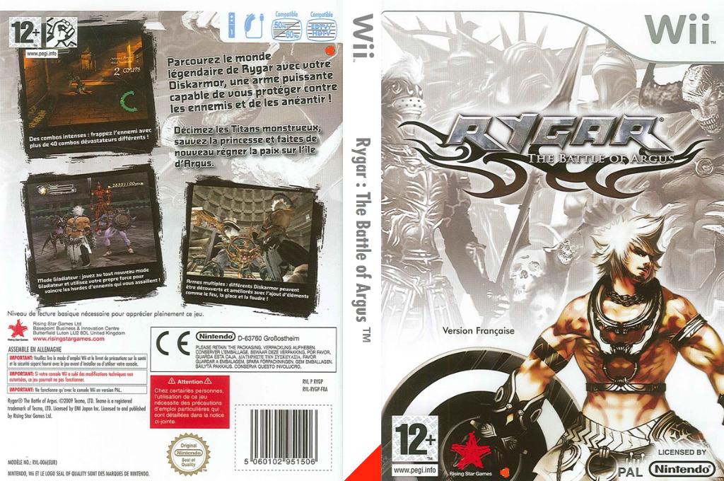 Rygar:The Battle of Argus Wii coverfullHQ (RYGP99)