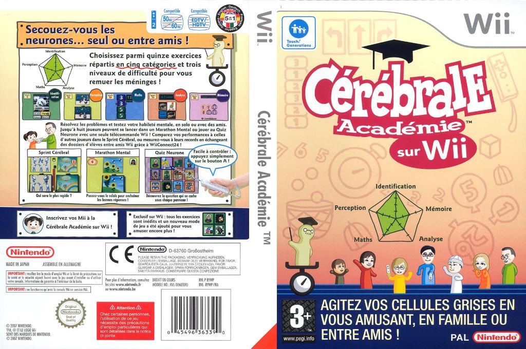 Cérébrale Académie Wii coverfullHQ (RYWP01)