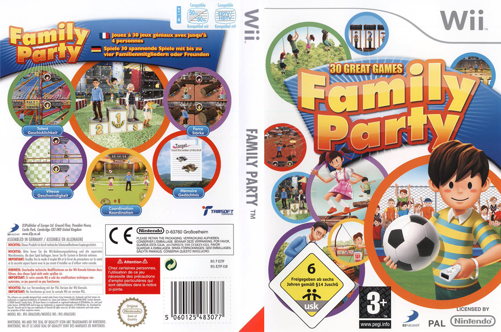 Family Party : 30 Great Games Wii coverfullHQ (RZ9PG9)