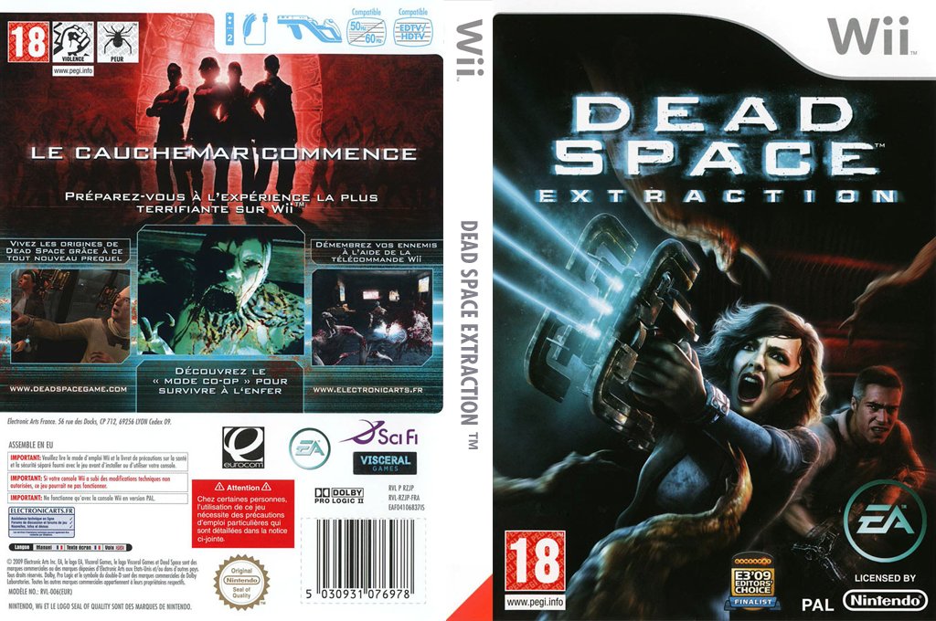 Dead Space:Extraction Wii coverfullHQ (RZJP69)