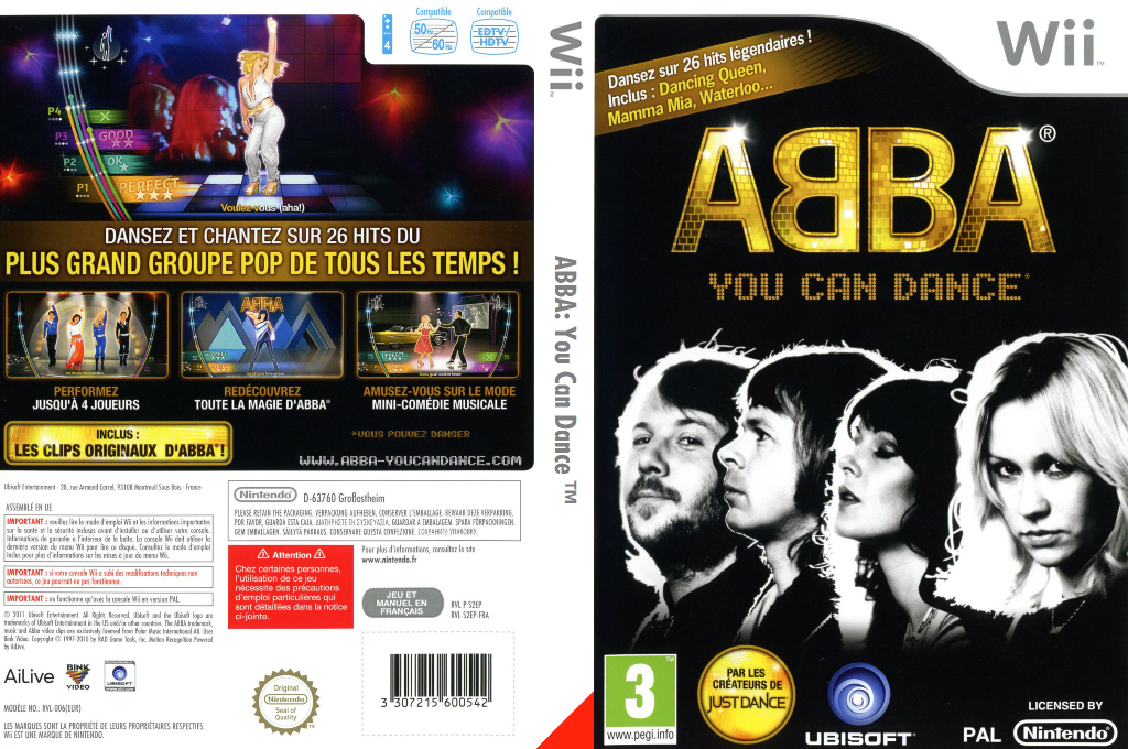 ABBA:You Can Dance Wii coverfullHQ (S2EP41)