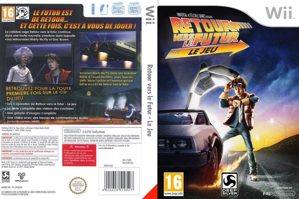 Retour vers le Futur - Le Jeu Wii coverfullHQ (S5BPKM)
