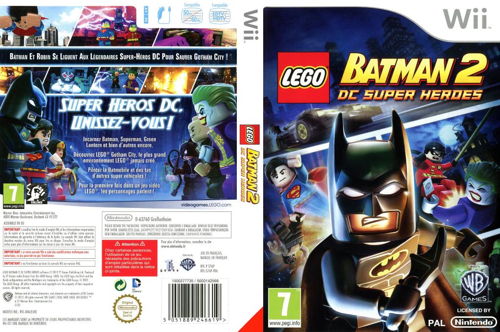 LEGO Batman 2:DC Super Heroes Wii coverfullHQ (S7APWR)