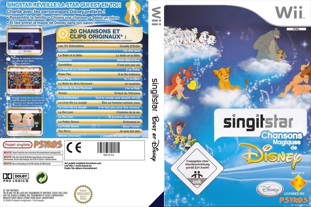 StarSing:Chansons Magiques de Disney v1.1 Wii coverfullHQ (SBOD3Q)