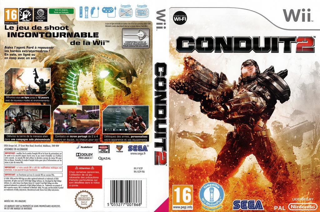 Conduit 2 Wii coverfullHQ (SC2P8P)
