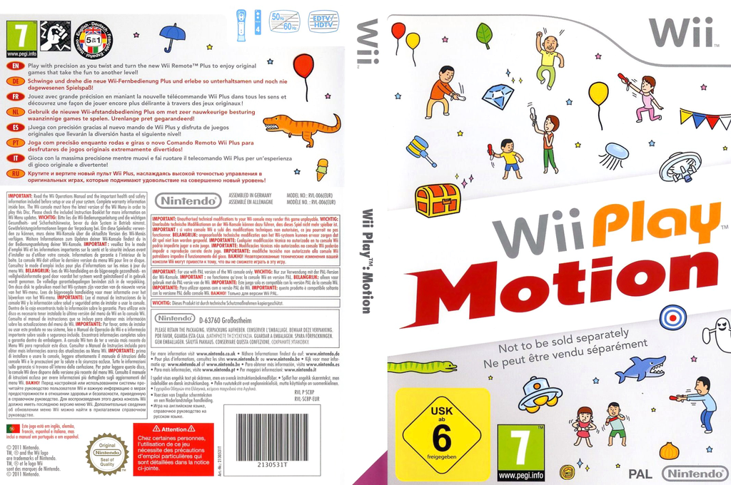 Wii Play: Motion Wii coverfullHQ (SC8P01)