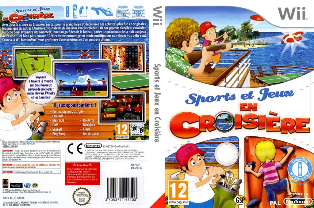 Sports et Jeux en Croisière Wii coverfullHQ (SCSPGR)