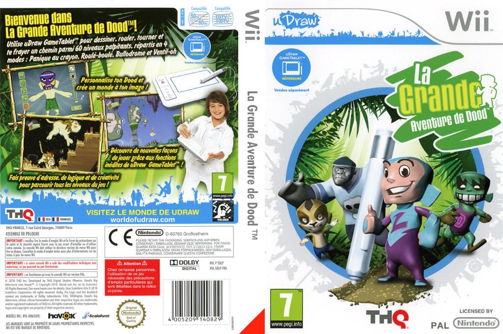 La Grande Aventure de Dood Wii coverfullHQ (SDLP78)