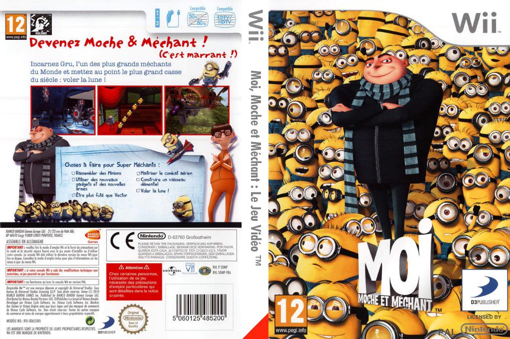 Moi, Moche et Méchant:Le Jeu Vidéo Wii coverfullHQ (SDMPAF)