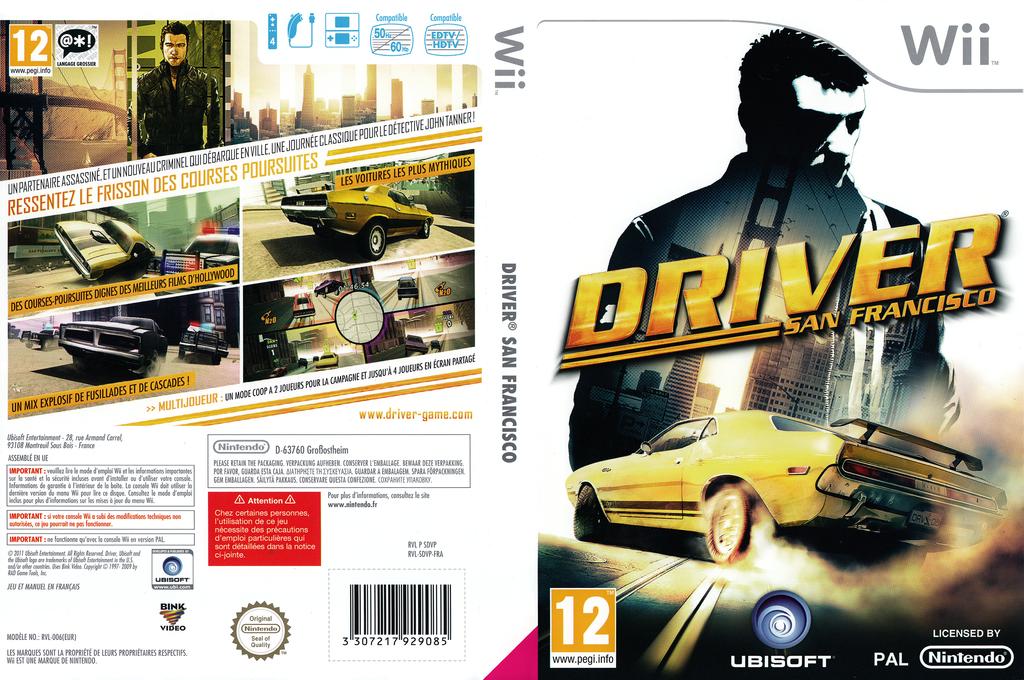 Driver:San Francisco Wii coverfullHQ (SDVP41)
