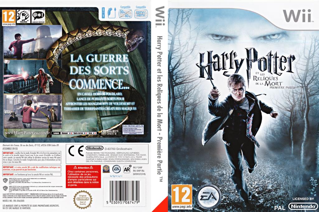 Harry Potter et les Reliques de la Mort - Première Partie Wii coverfullHQ (SHHP69)