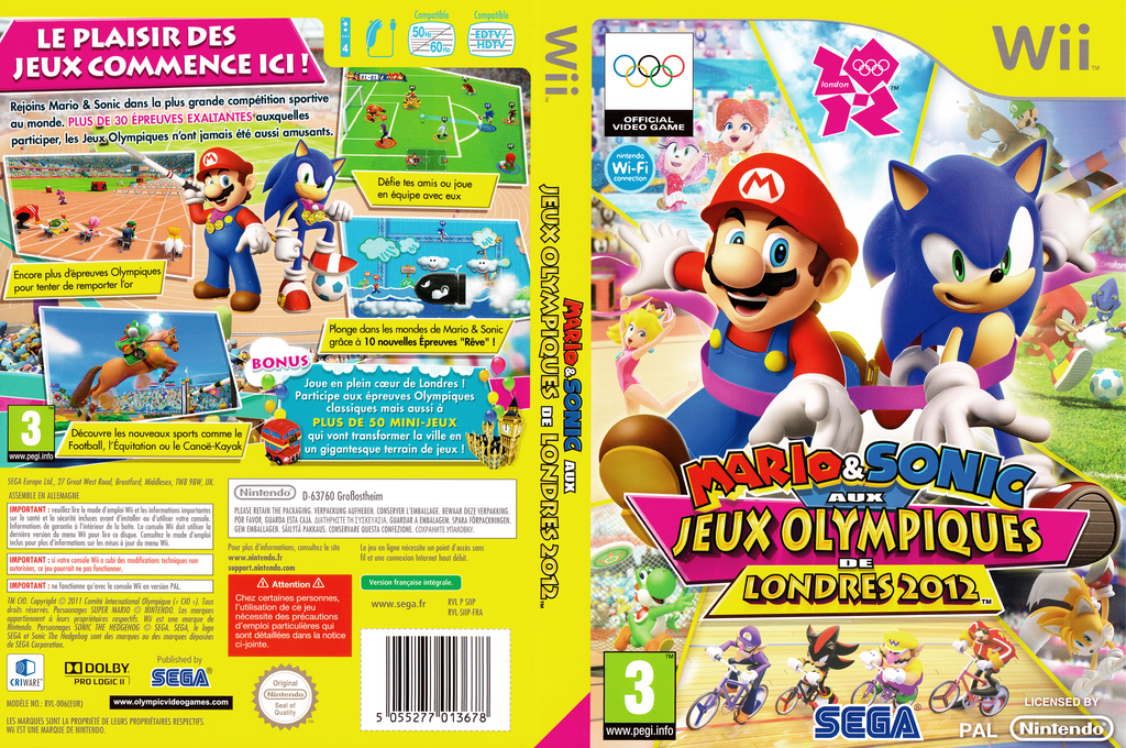Mario & Sonic aux Jeux Olympiques de Londres 2012 Wii coverfullHQ (SIIP8P)