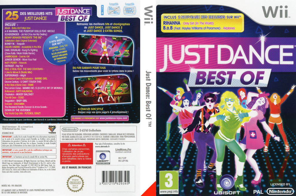 Just Dance : Best Of Wii coverfullHQ (SJTP41)