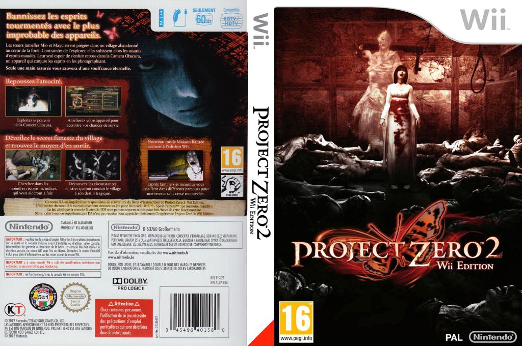 Project Zero 2:Wii Edition Wii coverfullHQ (SL2P01)