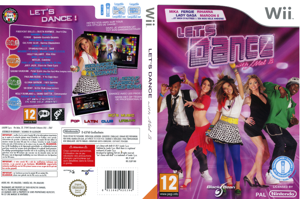 Let's Dance with Mel B Wii coverfullHQ (SLDPLG)