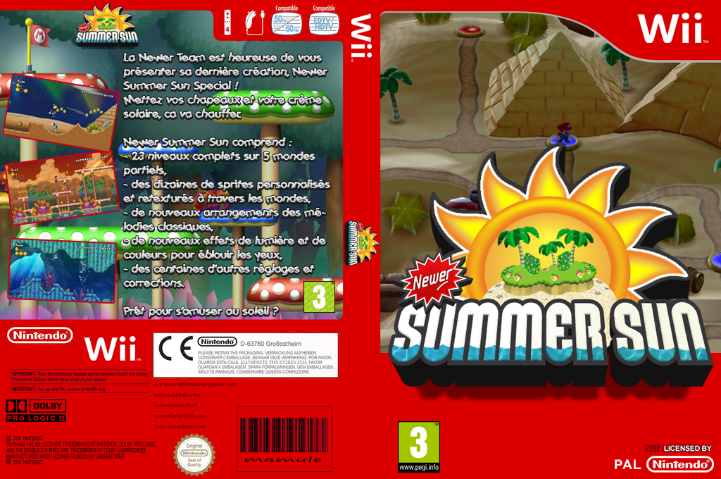 Newer Summer Sun Wii coverfullHQ (SMNP06)