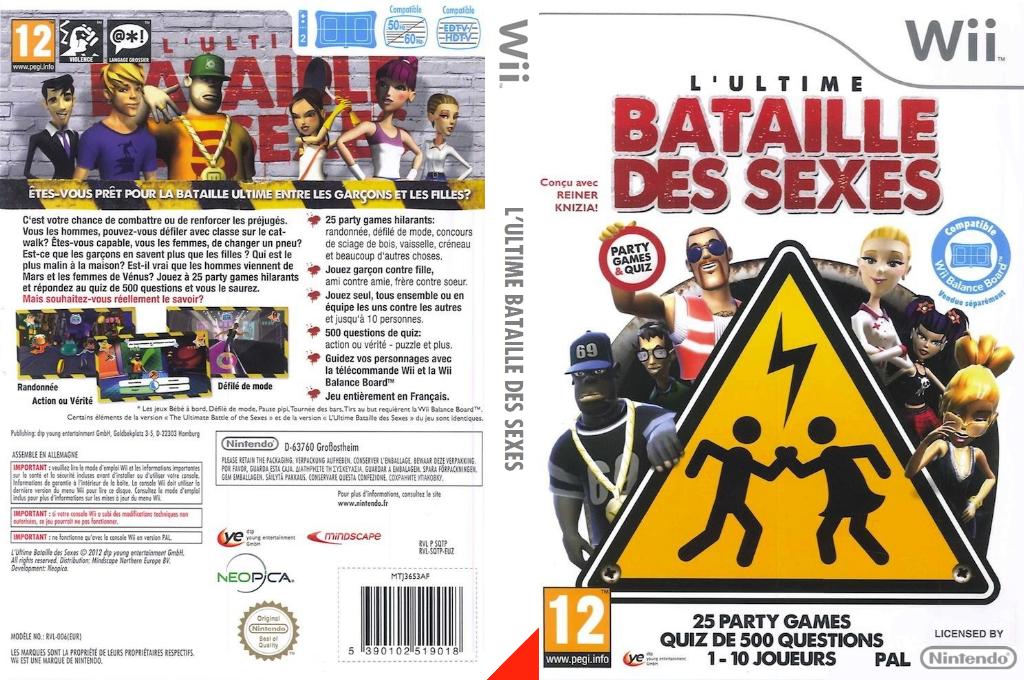 L'Ultime Bataille des Sexes Wii coverfullHQ (SQTPML)