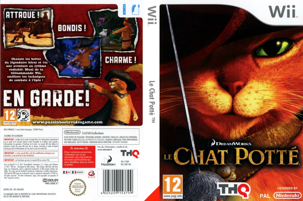 Le Chat Potté Wii coverfullHQ (SSBP78)