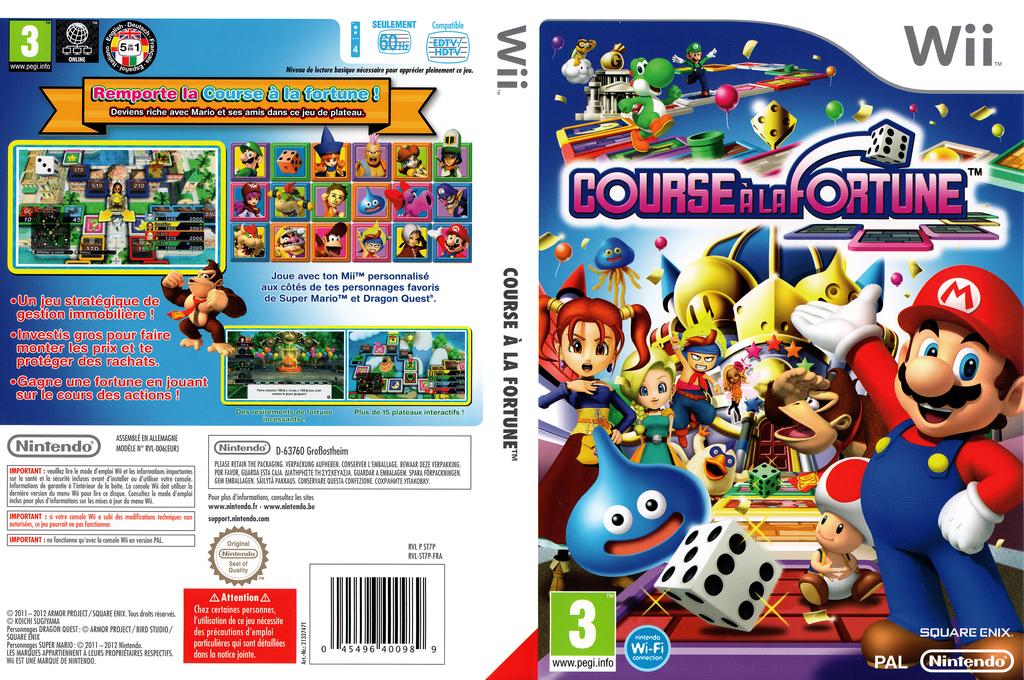 Course à la Fortune Wii coverfullHQ (ST7P01)