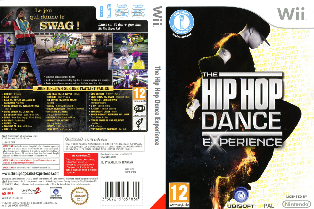 The Hip Hop Dance Experience Wii coverfullHQ (SUOP41)